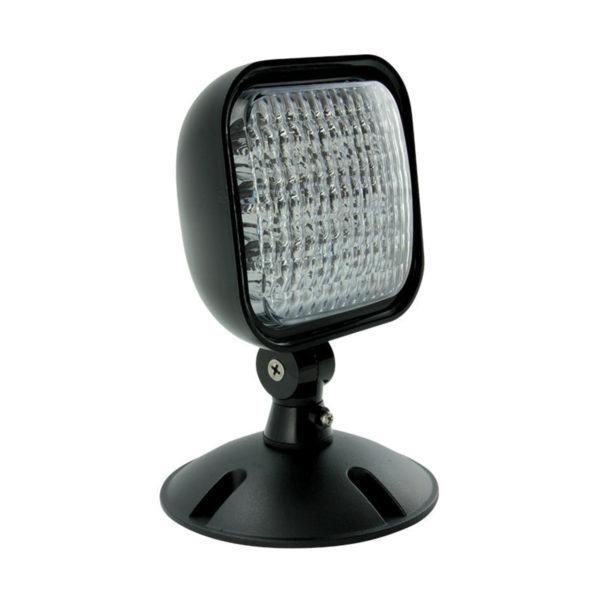 square remote lamp blk