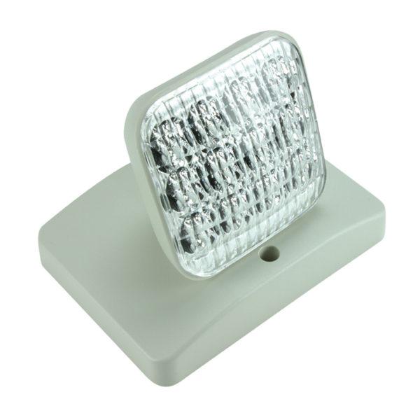 square remote lamp white