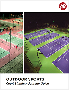 sports court lighting upgrade guide